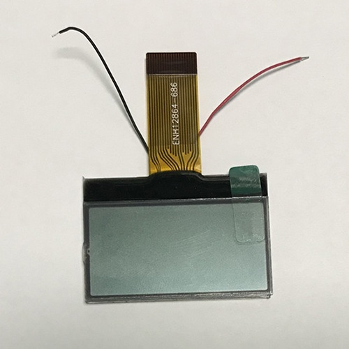 128x64 Graphic LCD Display For Handheld Products
