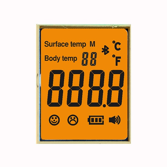 Segment LCD Display for Temperature Gun/Forehead temperature Meter
