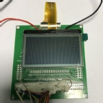 Graphic Mono Display LCD Module 128x128
