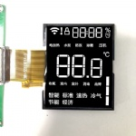 Segment LCD Display Customized