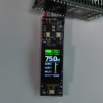 1.0 Inch TFT 60X80 with Touch Screen For small devices