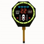 Octagon Segment LCD Display Module