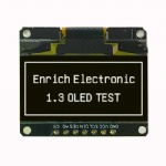 China Supply 1.3 inch OLED Module 7PIN
