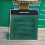 128X128 Graphic LCD STN Green film