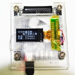 128x64 dots graphic COG negative lcd display module