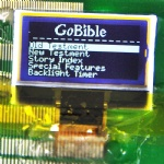 128X64 resolution COG LCD display module