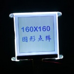 Price 160x160 dots matrix Graphic LCD Module